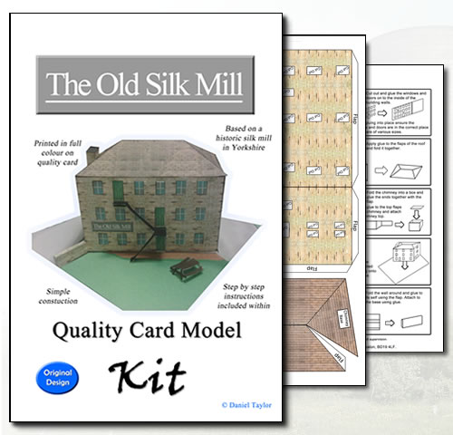 Old Silk Mill Card Kit Model